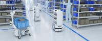 Rešitve v logistiki z uporabo mobilnih robotov OMRON