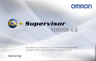 Slika OMRON SCADA programska oprema CX-Supervisor 4.0