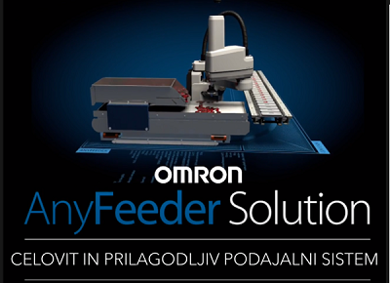 Slika Podajalni sistem OMRON Anyfeeder