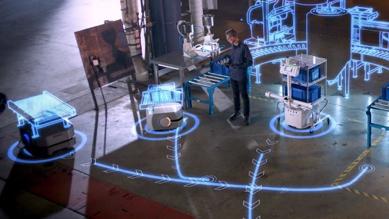 Slika Mobilni robot Omron LD250
