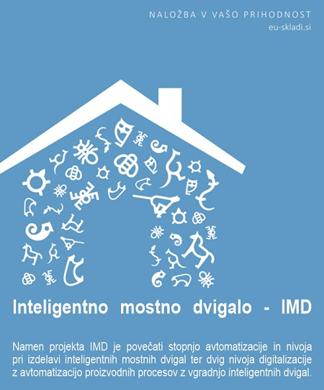 Slika Razvojni projekt IMD- Inteligentno mostno dvigalo